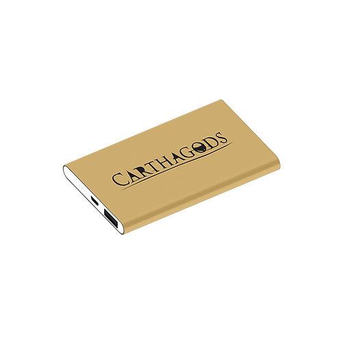 Power Bank Carthagods - Gold