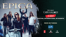 Rock On Tunisia - Epica & Carthagods sur scène !!!