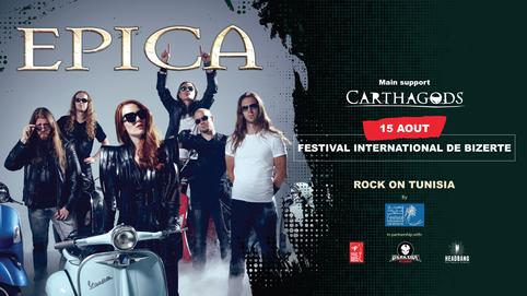 Rock On Tunisia - Epica & Carthagods sur scène !!!