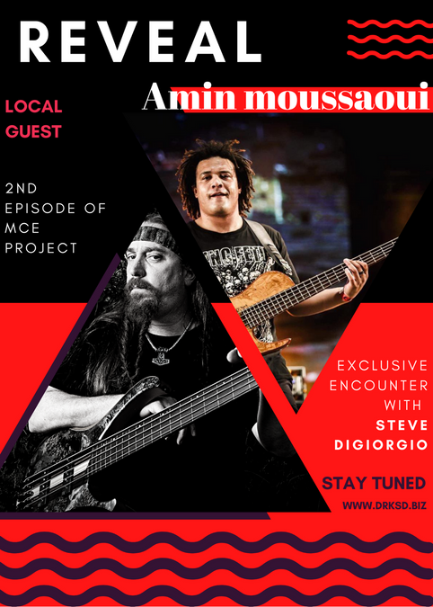 MCE Project - Steve DiGiorgio local artist reveal