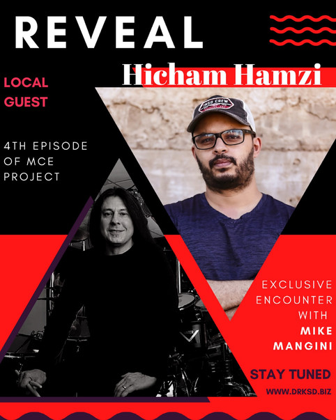 Mike Mangini at the MCE project  hosted by Hicham Hamzi 🇲🇦🇲🇦🇲🇦🇲🇦