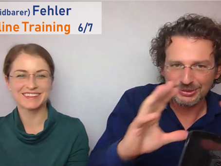 (Vermeidbarer) Fehler im Online Training 6/7