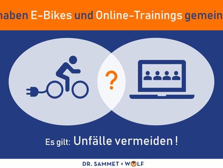Was haben E-Bikes und Online-Trainings gemeinsam?