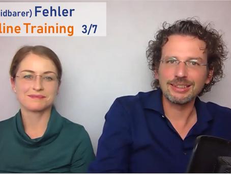 (Vermeidbarer) Fehler im Online Training 3/7