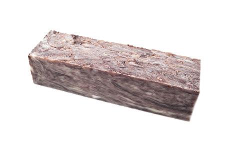 Black Licorice Unlabeled Soap Loaf