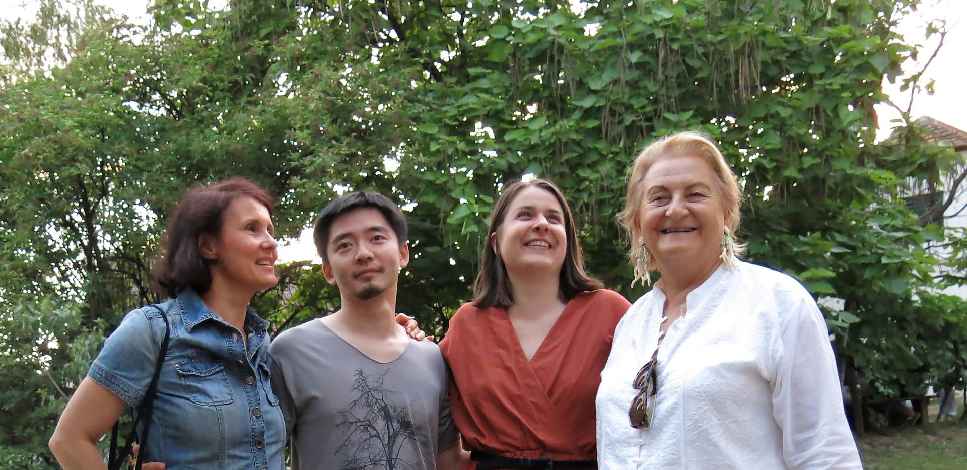 Dr. Ursula Krinzinger, Maria Probst, Jian Quo, Barbara