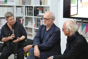 Carl Pruscha im Dialog mit András Pálffy und Franziska Leeb