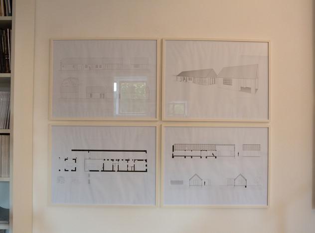 Skizzen Lehmhaus