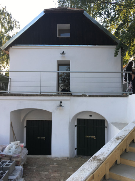 Umbau eines Presshauses in der Kellergas