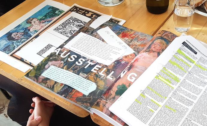 Lesung in der Zeitschriftenbibliothek