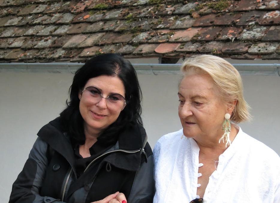 Eva Schlegel und Dr. Ursula Krinzinger