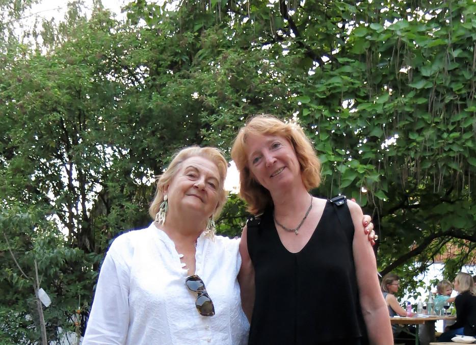 Dr. Ursula Krinzinger und Sabine B. Vogel