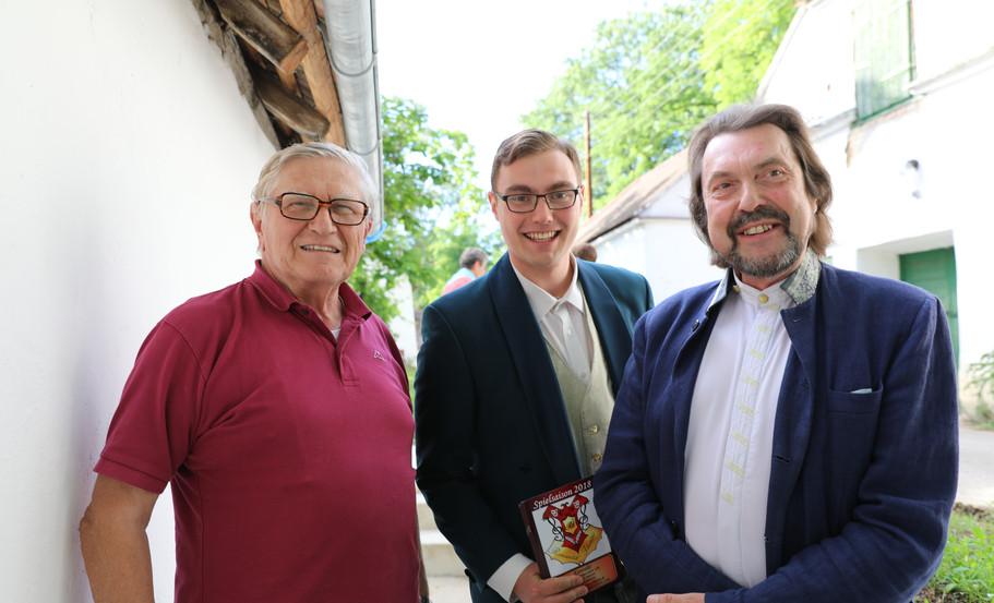 Hr. Dr. Krinzinger und Gäste