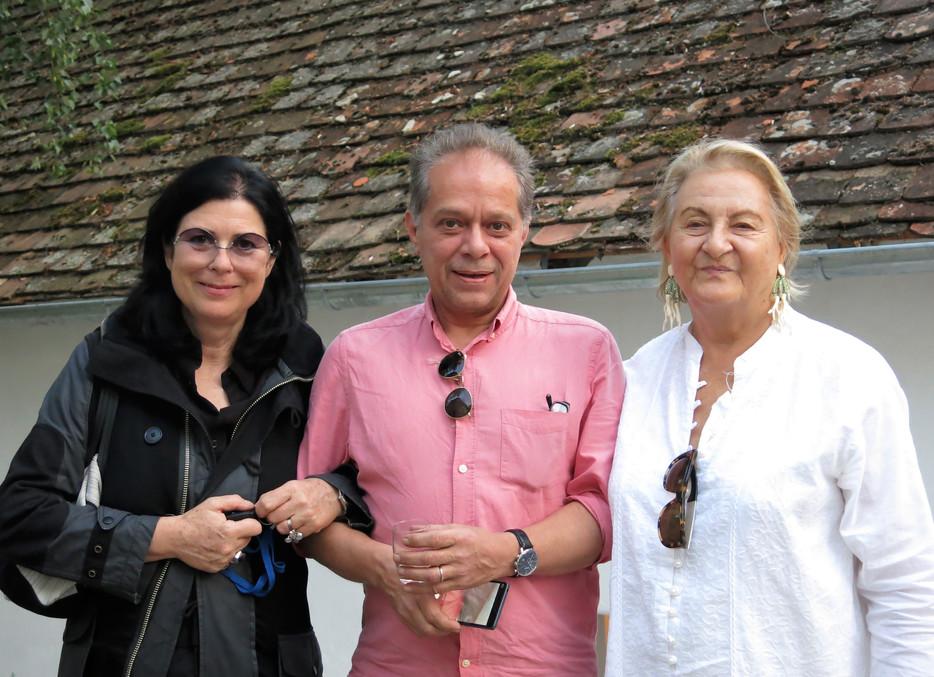 Dr. Ursula Krinzinger mit Eva Schlegel