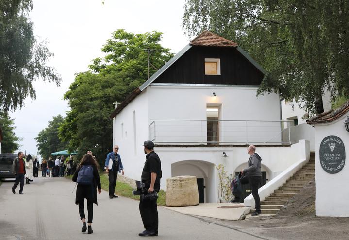 Meinhard Rauchensteiner im Krinzinger Lesehaus
