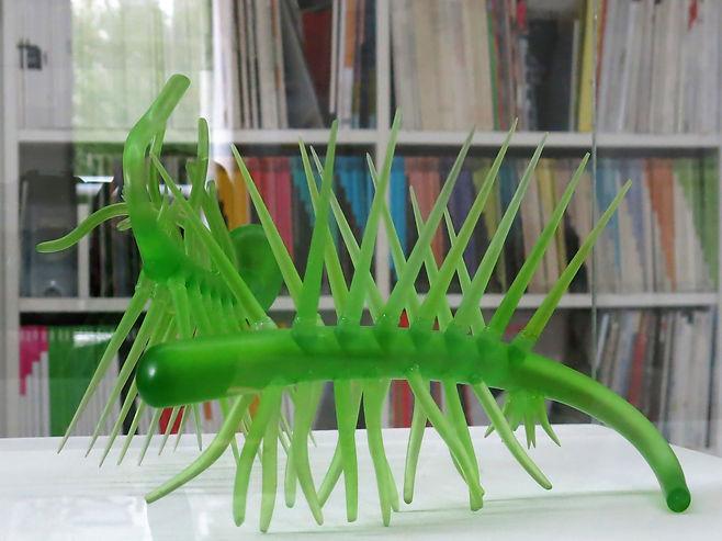 Martin Walde Kunst Hallucigenia model