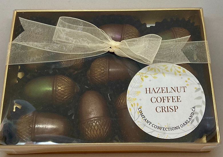 Hazelnut Coffee Crisp 11 Piece Box
