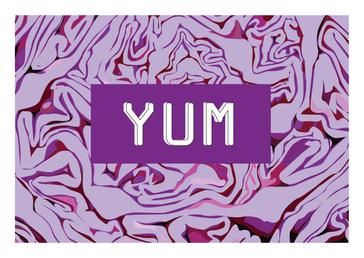YUM Card - Cabbage