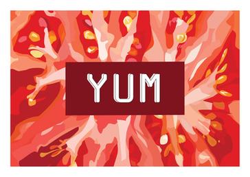 YUM Card – Tomato