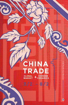 USC China Trade Exhibit Poster