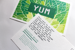 YUM Cards, Printed Close-Up