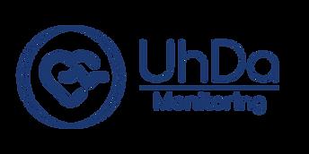UhDa Monitoring blue circle + tagline.pn