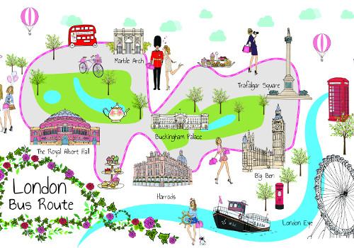 בנוסף לחוויה תעברו בכל המקומות האלו בלונדון