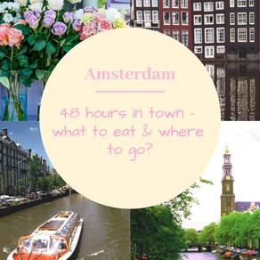 המדריך ל-48 שעות באמסטרדם