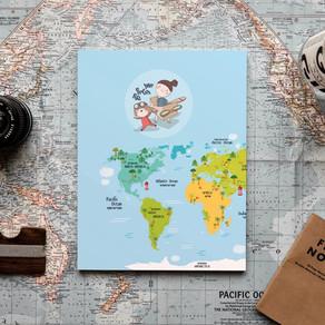 """יומן הטיול שלי - לחופשה בחו""""ל"""