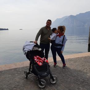 חופשה משפחתית באגם גארדה, איטליה