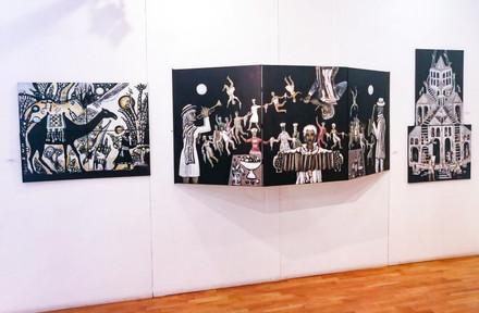 """Black Boards"" A3 Gallery"