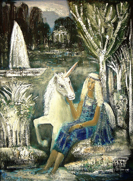 Girl And The Unicorn.JPG