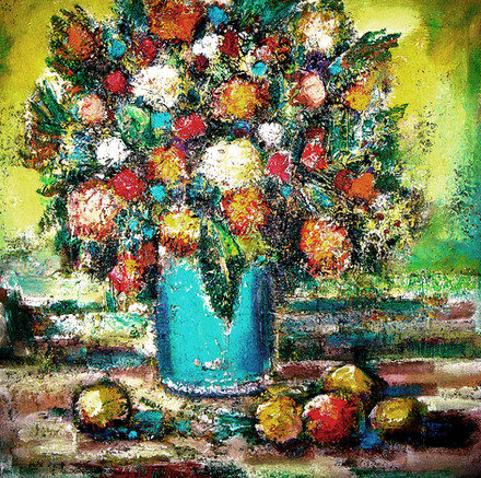 A Bouquet With Apples.jpg
