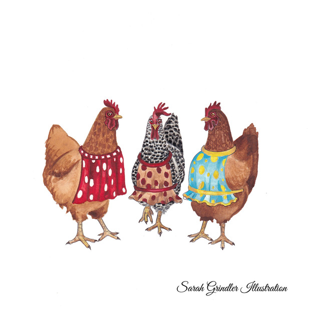 Hens in Aprons