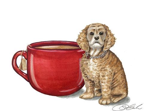 Brea and Tea Card