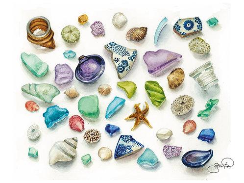Seaside Treasures Card