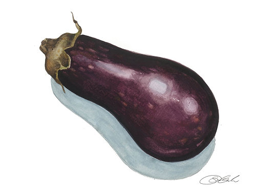 Eggplant Card