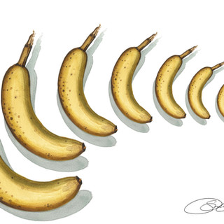 Banana Movement Print