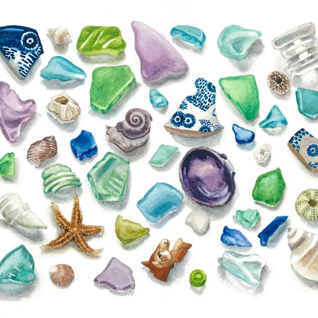 Seaside Treasure Card