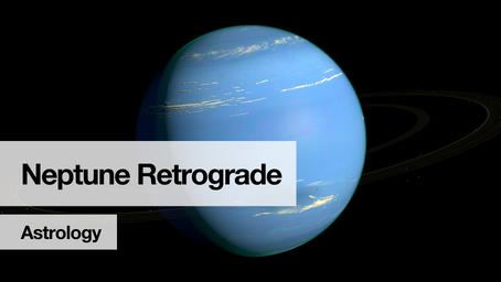 Neptune retrograde – June to December 2021