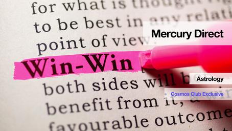 Mercury Direct (in Libra)