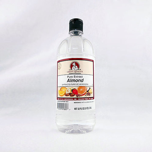 Almond Extract Pure 32oz.