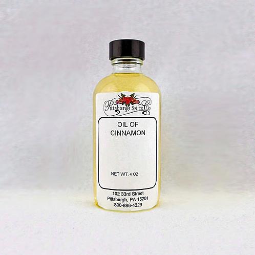 Cinnamon Oil 4oz.