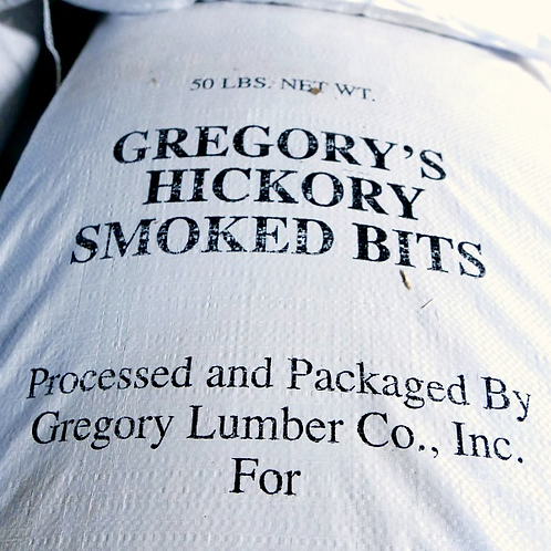 Colonel Gregory COARSE Hickory Chips (50lb. Bag)