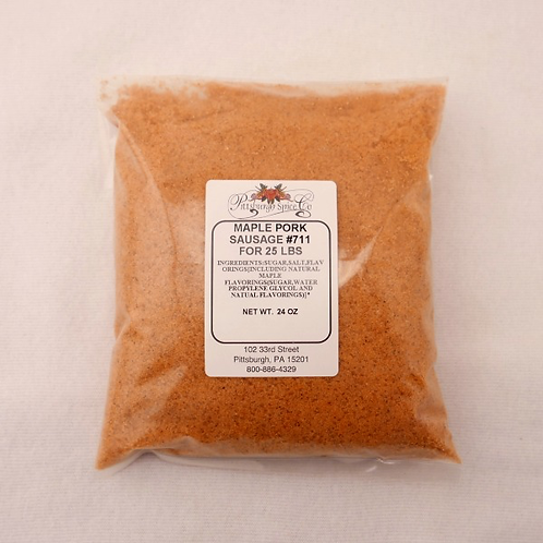 Maple Sausage Seasoning #711 - 24oz.