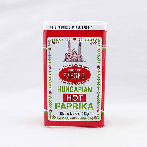 Szeged Hot Paprika 4oz. Tin