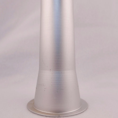 Aluminum Sausage Stuffing Tube with 2in. Base