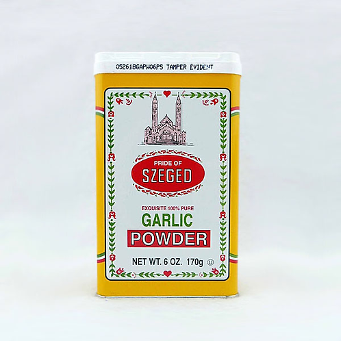 Szeged Garlic Powder 6oz. Tin