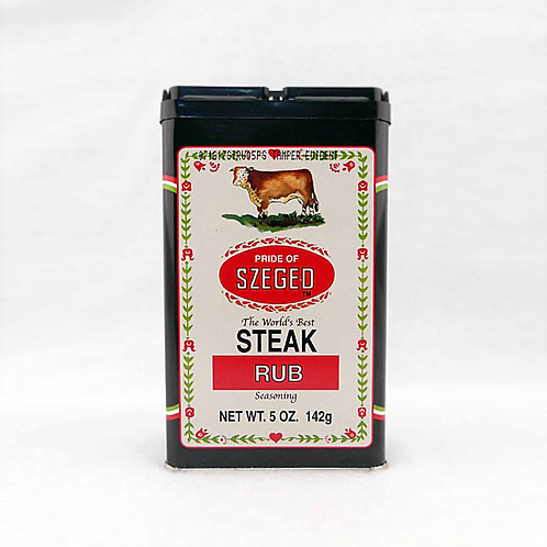 Szeged Steak Rub 5oz. Tin