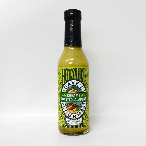 Dave's Creamy Roasted Jalapeno Sauce 8.0 oz